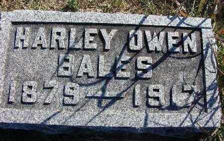 BALES, HARLEY OWEN - Warren County, Iowa | HARLEY OWEN BALES