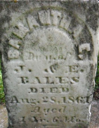 BALES, SAMANTHA E. - Warren County, Iowa   SAMANTHA E. BALES