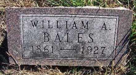 BALES, WILLIAM A. - Warren County, Iowa | WILLIAM A. BALES