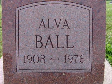 BALL, ALVA - Warren County, Iowa | ALVA BALL