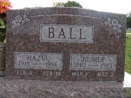 ALEXANDER BALL, HAZEL - Warren County, Iowa | HAZEL ALEXANDER BALL