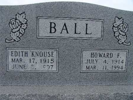 BALL, HOWARD F. - Warren County, Iowa | HOWARD F. BALL