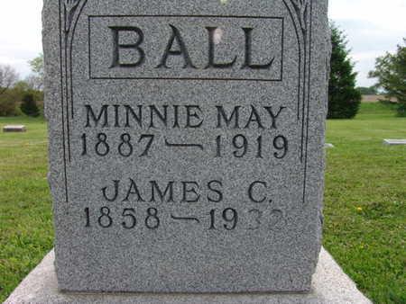 BALL, MINNIE MAY - Warren County, Iowa | MINNIE MAY BALL
