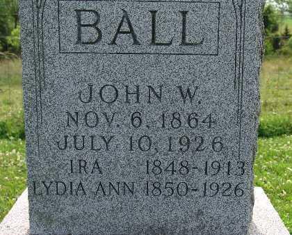 BALL, IRA - Warren County, Iowa | IRA BALL