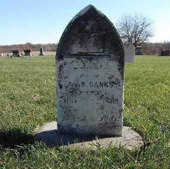 BANKS, SARAH E. - Warren County, Iowa | SARAH E. BANKS