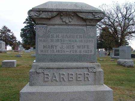 BARBER, S. H. - Warren County, Iowa | S. H. BARBER