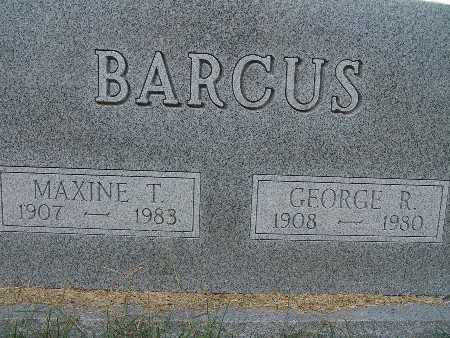 BARCUS, GEORGE R. - Warren County, Iowa | GEORGE R. BARCUS