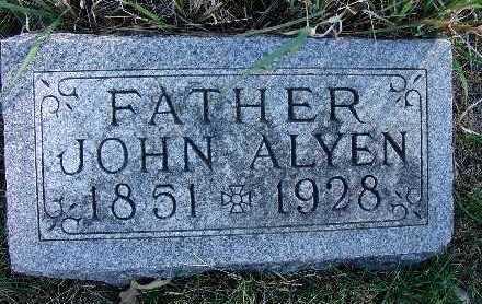 BARDRICK, JOHN ALYEN - Warren County, Iowa | JOHN ALYEN BARDRICK