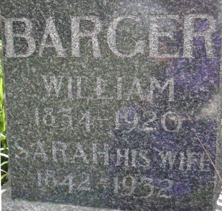 BARGER, WILLIAM - Warren County, Iowa   WILLIAM BARGER