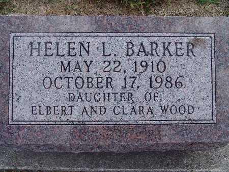 WOOD BARKER, HELEN L. - Warren County, Iowa | HELEN L. WOOD BARKER