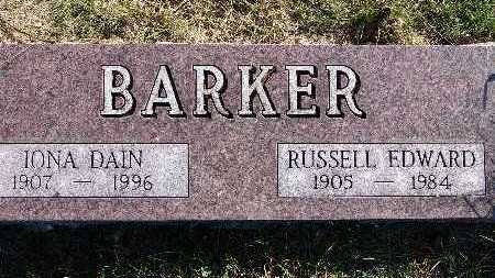 BARKER, RUSSELL EDWARD - Warren County, Iowa | RUSSELL EDWARD BARKER