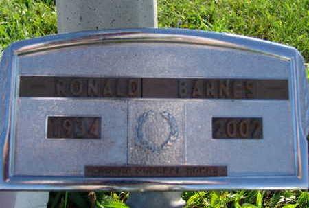 BARNES, RONALD - Warren County, Iowa | RONALD BARNES