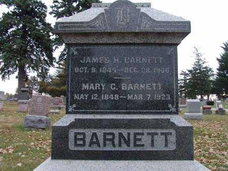 BARNETT, JAMES H. - Warren County, Iowa   JAMES H. BARNETT