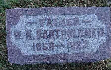 BARTHOLOMEW, W. N. - Warren County, Iowa | W. N. BARTHOLOMEW