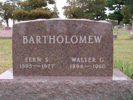 BARTHOLOMEW, WALTER G. - Warren County, Iowa | WALTER G. BARTHOLOMEW