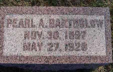 BARTHOLOW, PEARL A. - Warren County, Iowa | PEARL A. BARTHOLOW
