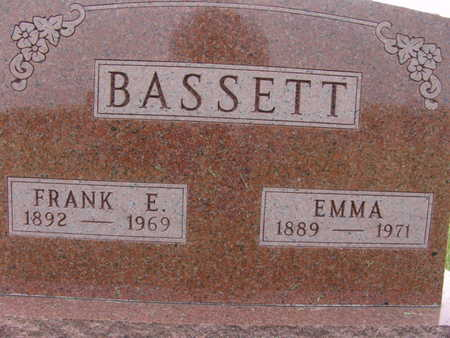 BASSETT, EMMA - Warren County, Iowa   EMMA BASSETT