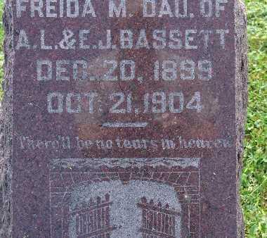 BASSETT, FREIDA M. - Warren County, Iowa | FREIDA M. BASSETT