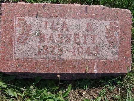 BASSETT, ILA B. - Warren County, Iowa   ILA B. BASSETT