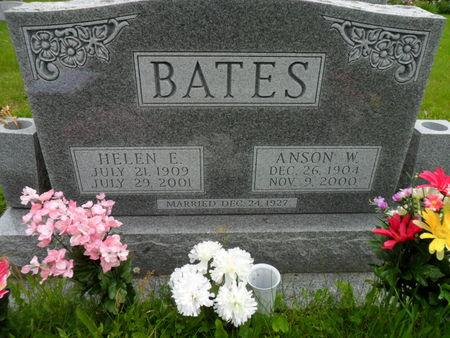BATES, HELEN E. - Warren County, Iowa | HELEN E. BATES