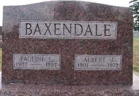 BAXENDALE, ALBERT J. - Warren County, Iowa   ALBERT J. BAXENDALE