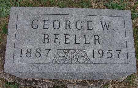 BEELER, GEORGE W. - Warren County, Iowa | GEORGE W. BEELER