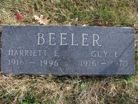 BEELER, GUY E. - Warren County, Iowa | GUY E. BEELER