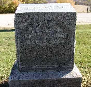 HOOVER BEEM, HATTIE - Warren County, Iowa   HATTIE HOOVER BEEM