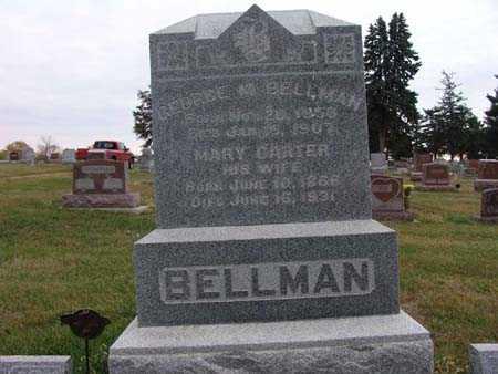 BELLMAN, GEORGE M - Warren County, Iowa   GEORGE M BELLMAN