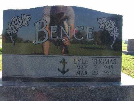BENCE, LYLE THOMAS - Warren County, Iowa | LYLE THOMAS BENCE