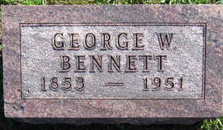 BENNETT, GEORGE W. - Warren County, Iowa | GEORGE W. BENNETT