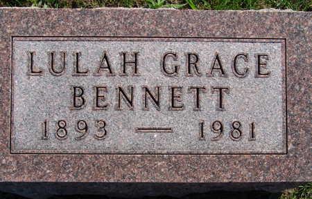BENNETT, LULAH GRACE - Warren County, Iowa | LULAH GRACE BENNETT