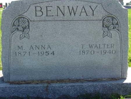 BENWAY, T. WALTER - Warren County, Iowa | T. WALTER BENWAY