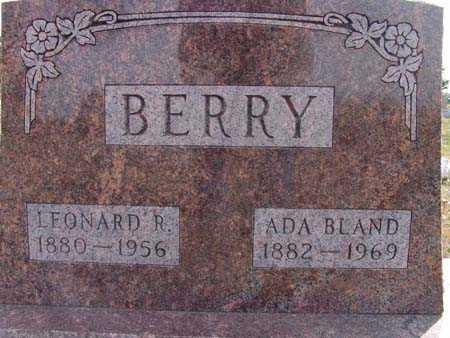 BERRY, ADA BLAND - Warren County, Iowa | ADA BLAND BERRY