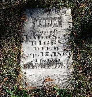 BIGGS, JOHN - Warren County, Iowa | JOHN BIGGS