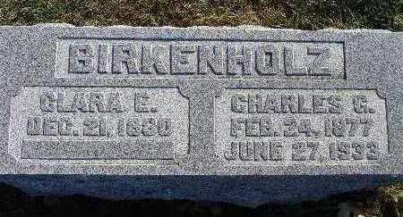 BIRKENHOLZ, CLARA E. - Warren County, Iowa | CLARA E. BIRKENHOLZ