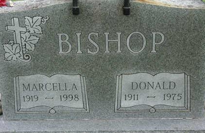 BISHOP, MARCELLA - Warren County, Iowa | MARCELLA BISHOP