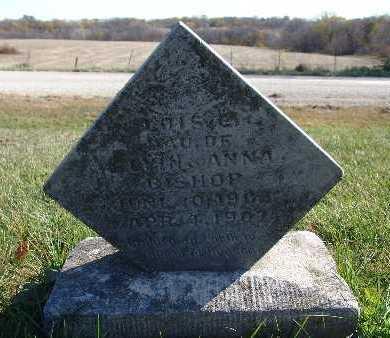 BISHOP, LOIS E. - Warren County, Iowa   LOIS E. BISHOP