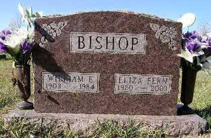 BISHOP, WILLIAM E. - Warren County, Iowa | WILLIAM E. BISHOP