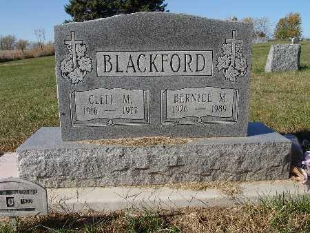 BLACKFORD, CLELL M. - Warren County, Iowa | CLELL M. BLACKFORD