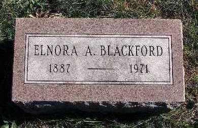 BLACKFORD, ELNORA A. - Warren County, Iowa   ELNORA A. BLACKFORD