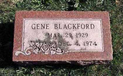 BLACKFORD, GENE - Warren County, Iowa | GENE BLACKFORD
