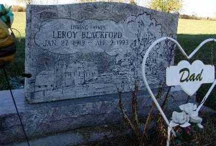 BLACKFORD, LEROY - Warren County, Iowa   LEROY BLACKFORD