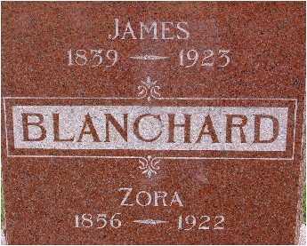 BLANCHARD, JAMES - Warren County, Iowa   JAMES BLANCHARD
