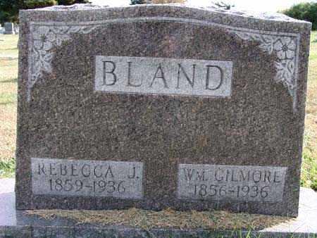 BLAND, WM. GILMORE - Warren County, Iowa | WM. GILMORE BLAND