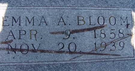 BLOOM, EMMA A - Warren County, Iowa | EMMA A BLOOM