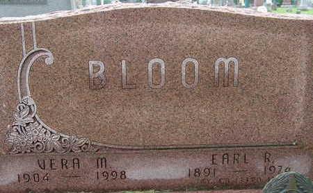 BLOOM, EARL R - Warren County, Iowa | EARL R BLOOM