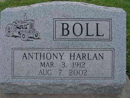 BOLL, ANTHONY HARLAN - Warren County, Iowa   ANTHONY HARLAN BOLL