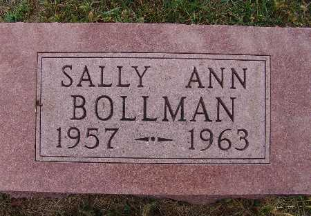 BOLLMAN, SALLY ANN - Warren County, Iowa   SALLY ANN BOLLMAN