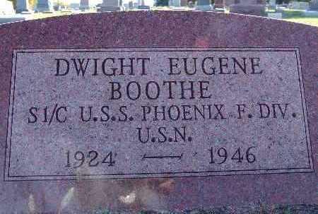 BOOTHE, DWIGHT EUGENE - Warren County, Iowa | DWIGHT EUGENE BOOTHE